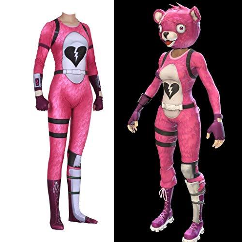 TOYSGAMES Cosplay Panda Costume Adult Elastic Body Tights Filmspiel Prop Spiel Kostüm (Farbe : Rosa, größe : XXXL) (Jugend Kostüm Panda)