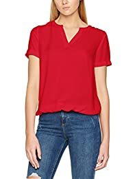 TOM TAILOR Damen Bluse Casual Dobby Structured Blouse