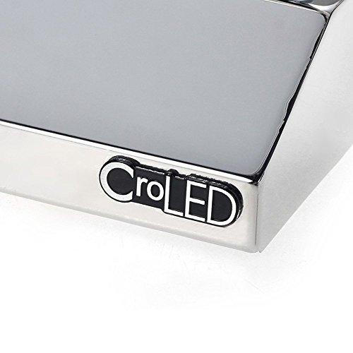 croled led spiegelleuchte wandlampe 7w badlampe badleuchte wandleuchte leuchte wandlampe. Black Bedroom Furniture Sets. Home Design Ideas