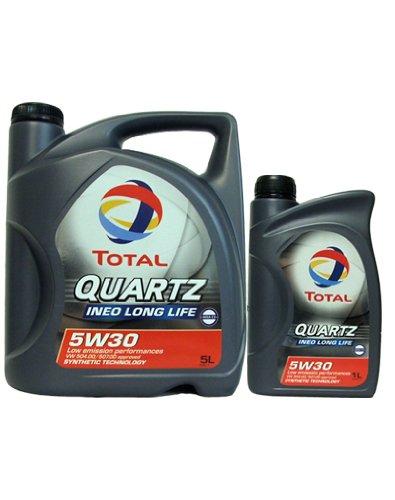 Preisvergleich Produktbild Total 5W30 Quartz Ineo Longlife 5 + 1 Liter Motoröl