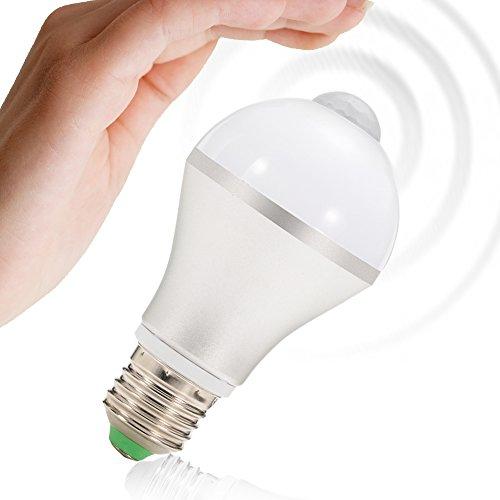 Lampadine Risparmio Energetico, Lampadine led E27 7W, PIR Lampadina...