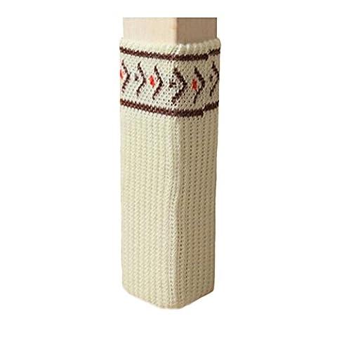 Meubles Knit Socks sol Protector Épaissir Chaise / Table Jambières 24 PCS-A10