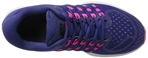 Nike Wmns Air Zoom Vomero 11, Scarpe De Corsa Donna Multicolore (dk Purple Dust / Black-pink Blast)