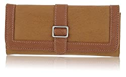 Fantosy Light Tan and Dark Tan Womens Wallet