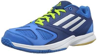 adidas Feather Team 2, Chaussures de handball homme - Bleu (SOLAR BLUE2 S14 / RUNNING WHITE FTW / TRIBE BLUE S14), 36 2/3 EU