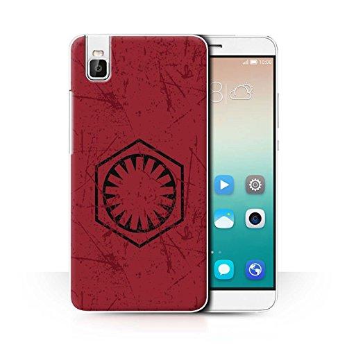 Stuff4® Hülle/Case für Huawei Honor 7i/ShotX/Erste Bestellung Inspiriert Muster/Galaktisches Symbol Kunst Kollektion