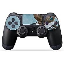 Sony Playstation 4 Slim Controller Folie Skin Sticker aus Vinyl-Folie Aufkleber Sloth Faultier Glasses