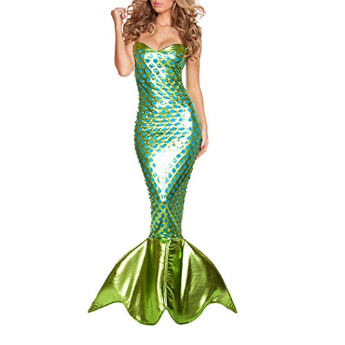 Frauen Sexy Meerjungfrau Halloween (Rollenspiel Frauen Kostüme)