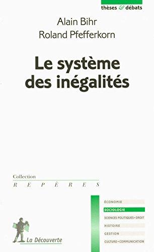 Le système des inégalités