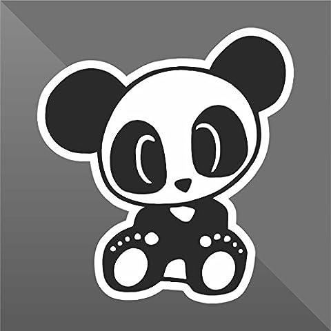 Sticker Baby Panda DUB JDM Sticker Bomb - Decal Cars Motorcycles Helmet Wall Camper Bike Adesivo Adhesive Autocollant Pegatina Aufkleber - cm 10