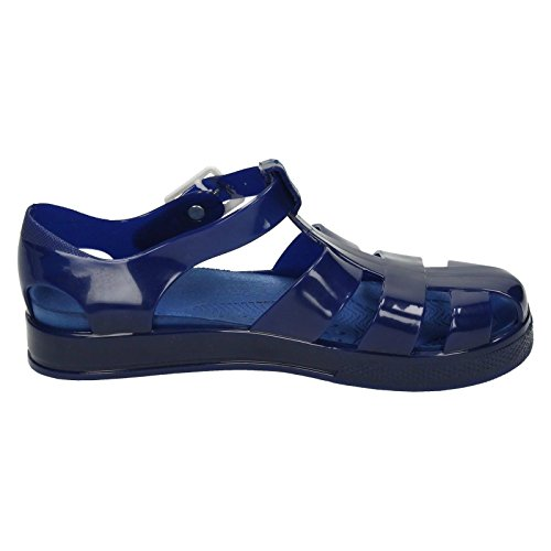 Girls Spot On Plat Chaussures Casual en Bleu Marine