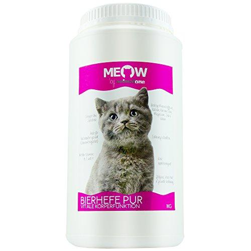 animalone BIERHEFE PUR 1 KG - für Katzen - Für gesunde Haut & Fellglanz - Nahrungsergänzung