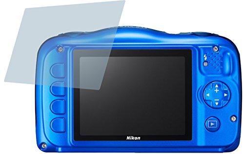 Nikon Coolpix S33 (4 Stück) PREMIUM Displayschutzfolie Bildschirmschutzfolie ANTIREFLEX Schutzhülle Displayschutz Displayfolie Folie