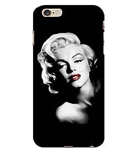Fuson The famous Singer theme Designer Back Case Cover forApple iPhone 6 -P-1377