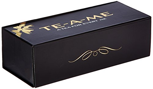 Te-a-me Assorted Green Teas Gift Box, 6 Green Tea Flavours, 48 Tea Bags