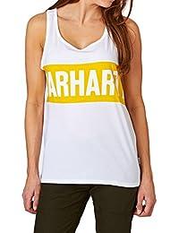 Carhartt W Shore A-Shirt White Carambola White - M Mujer