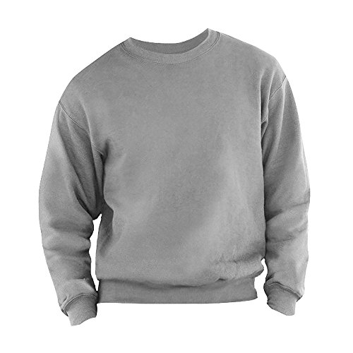 Fruit Of The Loom Belcoro® Garn Pullover (L) (Grau) L,Grau