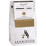 AROMISTICO | Rich Strong Gourmet Dark Roast | Premium Ground Coffee | Napoli Blend | for Cafetiere / French Press, Filter, Pour Over, Drip, Moka or Aeropress | Smoky, MALTY, Chocolate-Like