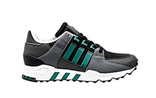Adidas Originals Equipment Running Support, Core Black-Sub Green-Chalk White, 6 (Support Adidas Equipment Running)