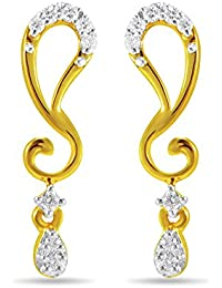 Joyalukkas Pride Diamond Collection 18k Yellow Gold Stud Matching  Earrings