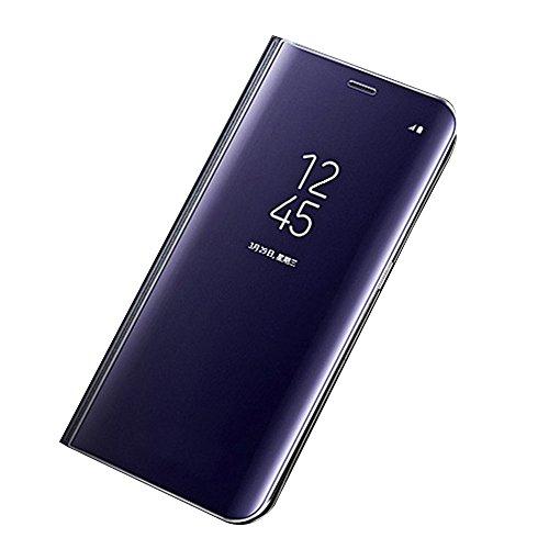 Auntwhale Samsung Galaxy J3 Case Fingerabdruck-resistent, schweißresistent. Bietet Schutz vor Kratzern, Stößen, Schmutz, Fett - Navy blau -