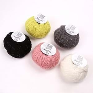CHEVAL BLANC - La pelote de laine Saphir