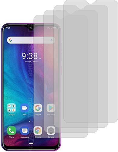 4ProTec 4X Crystal Clear klar Schutzfolie für Ulefone Note 7P Displayschutzfolie Bildschirmschutzfolie Schutzhülle Displayschutz Displayfolie Folie