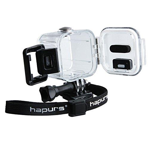 Galleria fotografica Hapurs - Custodia protettiva impermeabile subacquea per GoPro Hero 4 Session 5 Session, accessorio per fotocamera sportiva