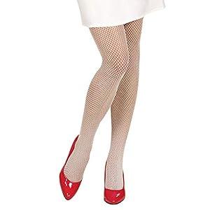 WIDMANN?Medias de Red para Adultos, color blanco, talla única, 4752b