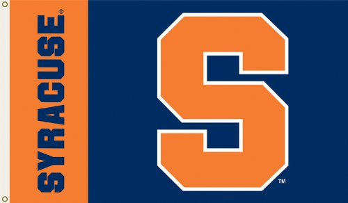 Syracuse Orangemen Basketball (BSI NCAA Flagge mit Ösen, 91 x 152 cm, Haus, Syracuse Orange, 3' x 5')
