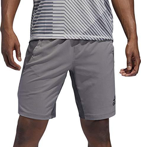 adidas 4krft Sport Woven 10-Inch Short Shorts, Herren L Grau (Grey Four f17/Grey six) - Adidas Bermuda Shorts