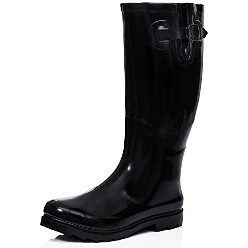 SPY LOVE BUY Arctic Flat Festival Wellies Rain Boots