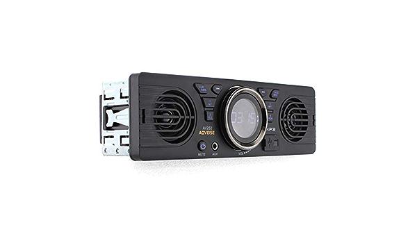 Wjh9 12v Auto Sd Karten Mp3 Audio Elektroauto Radio Mit Lautsprecher Bluetooth Host Lautsprecher Audio Player Einzel Din Fm Usb Tf Bt Freisprecheinrichtung Anrufen Und Antwort Fm Radio Küche Haushalt