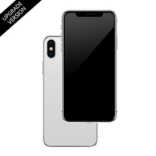 Anzeige gefälschte Spielzeug Telefon Handy Metallic-Modell Nicht funktionierende Replik 1:1 Telefon für Phone X 10 gefälschte Spielzeug (Silber)