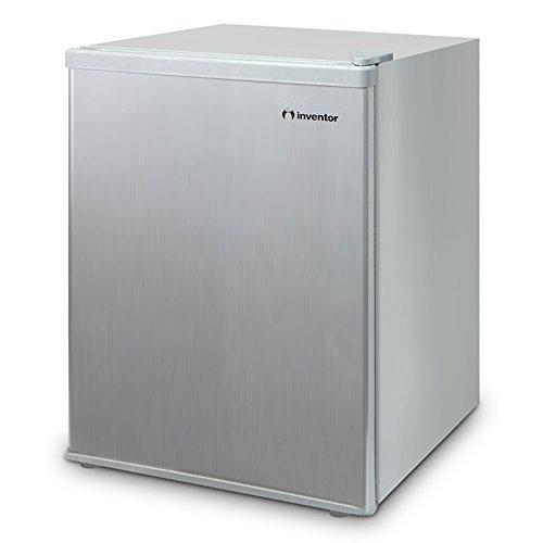 Inventor A+ Kompakter Mini-Kühlschrank Silber 67L