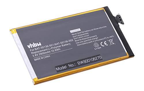 vhbw Akku 2800mAh (3.8V) für Handy, PDA, Smartphone, Telefon BlackBerry Aristo EU, Z30 LTE, STA100-1, -2, -3, -4, -5 wie BAT-50136-001, BAT-50136-002 Mobile-handy Pda