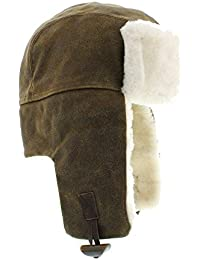 Amazon.it  Marrone - Cappelli aviatore   Cappelli e cappellini ... 42ffeaa217d3