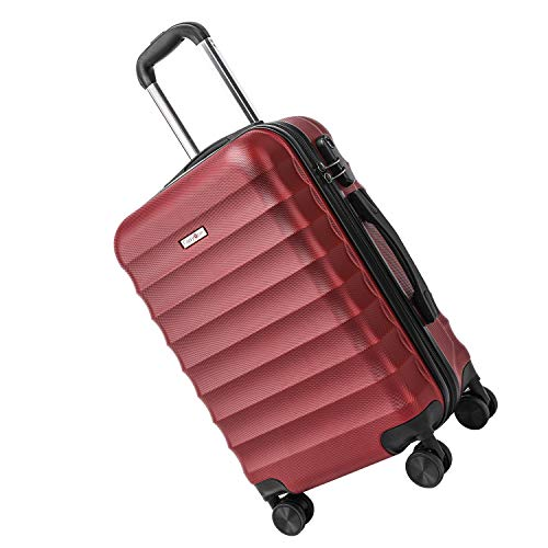 CarryOne ABS Valise Cabine |4 Roues pivotantes silencieuses...