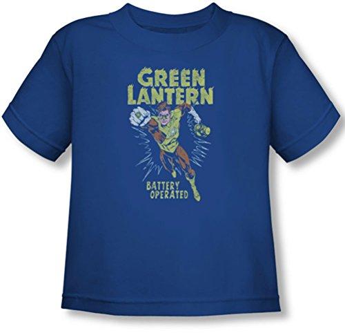 Green Lantern - Kleinkind-T-Shirt Vollständig geladen, 4T, Royal Blue (Royal T-shirt Blue Kleinkind)