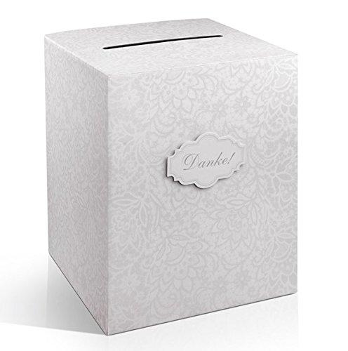 Geldbox / Geschenkkarten Box DANKE zur Hochzeit ♥ Hochzeitsgeschenk Geldgeschenk Briefbox Just Married ♥