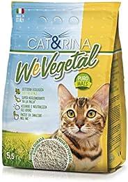 Cat&Rina Wevegetal Lettiera per Gatti al Mais Lettiera Ecologica Vegetale, 5