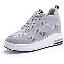 c0ec1a0467 sneakers zeppa interna - Grigio - Amazon.it
