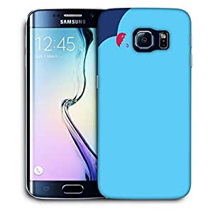 Snoogg Rainbow Color Design Printed Protective Phone Back Case Cover For Samsung Galaxy S6 EDGE / S IIIIII