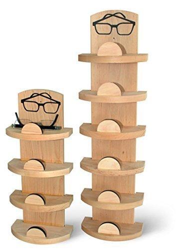 Sauna Spezial Brillenhalter für 6 Brillen Brillenablage 6-er Brillenregal by Finnsa