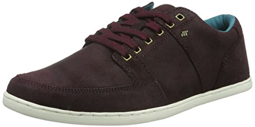 Boxfresh Spencer SH Wxdsde, Baskets Basses Homme Rouge - Rot (Maroon/Dk Teal)