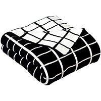 XDFCV Textiles,warmes Innenzubehör Baumwolle Kleine Decke Sofa Freizeit Gitter Decke Decke Kind Decke Cover Bein