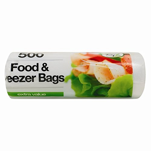 1000 de manchas de comida y de Bolsas , 2 paquetes de 500