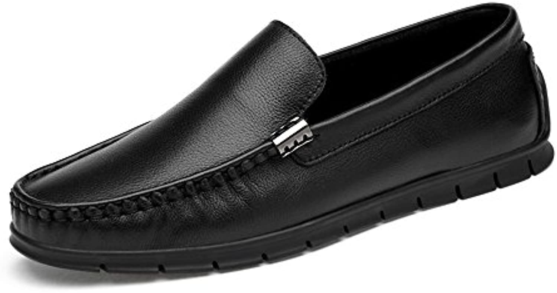 Mocassino da guida per uomo Comfrossoable Flat Heel tinta unita Slip on Soft Mocassini scarpe (Coloree   Nero, Dimensione... | comfort  | Sig/Sig Ra Scarpa
