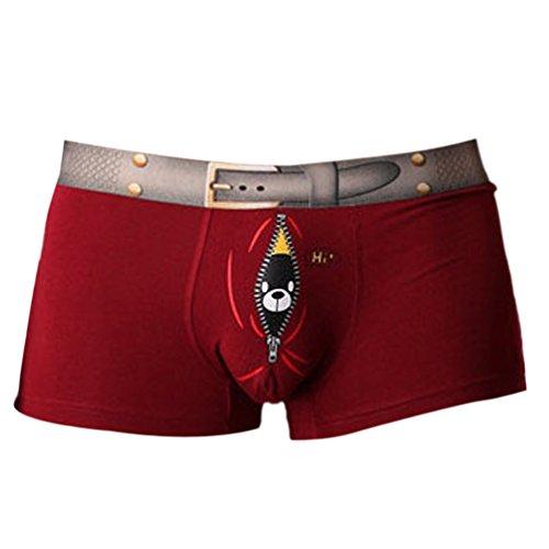 rivenditore online 6af7c 79b11 Vividda Sexy Hot Slip Boxer Uomo Divertenti Microfibra ...