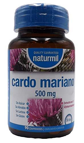 Cardo Mariano 500 mg 180 comprimido dos botes 90 sin